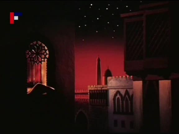 Tisic a jedna noc  aladinova kouzelna lampa 1992 CZ