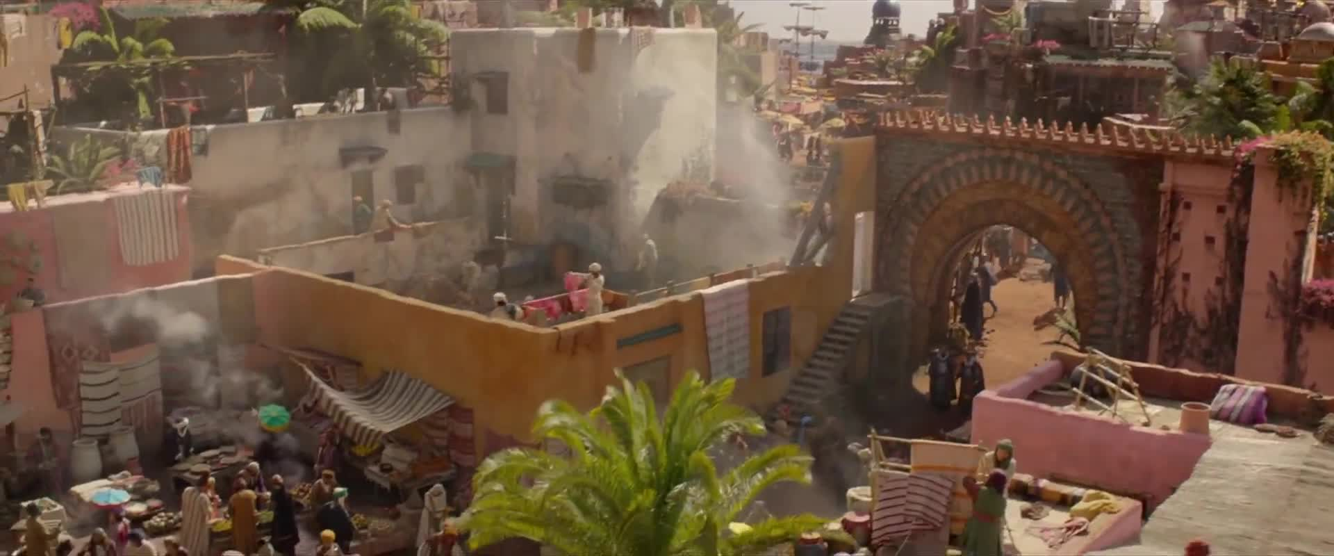 Aladin 2019 CZ titulky v obraze Aladdin 1080p HDRip